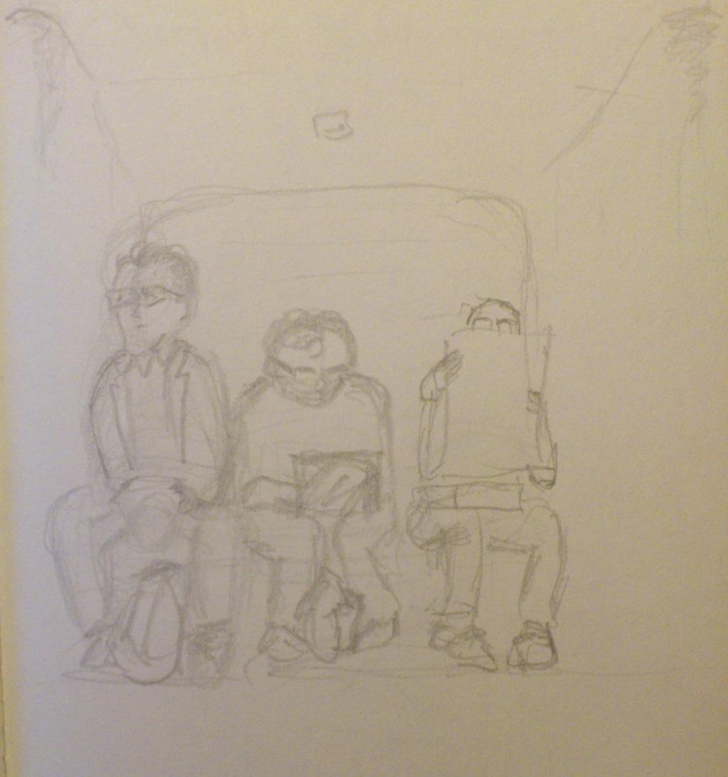 drie mannen met bril