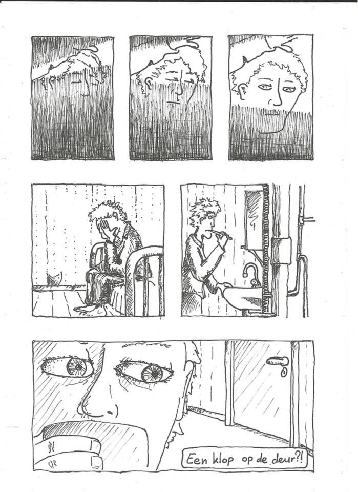 manier van tekenen strips
