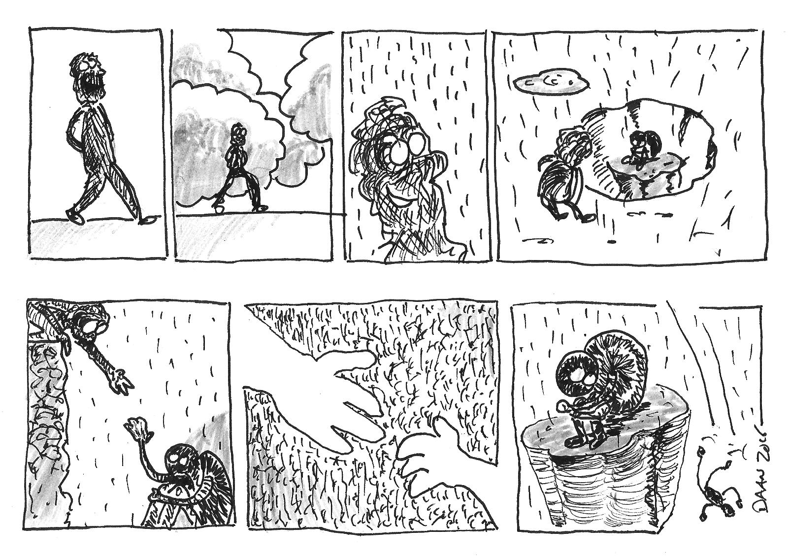 regenbui en zonneschijn